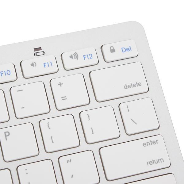 Bluetooth Wireless White Keyboard For Macbook Mac iPad