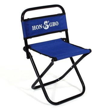 portable folding chairs light blue chair backrest fishing small stool