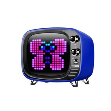 Divoom Tivoo Wireless Bluetooth 5.0 Retro TV Speaker