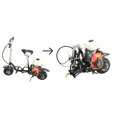 49cc 4-stroke single cylinder air cooled foldable portable