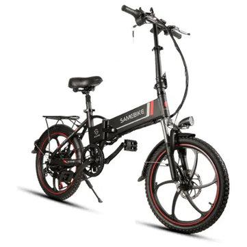 Samebike XW-20LY 350W Smart Folding Electric Bike 35km/h