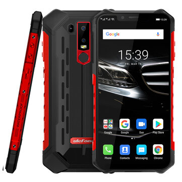 £196.66 Ulefone ARMOR 6E NFC IP68 IP69K Waterproof 6.2 inch 4GB 64GB Helio P70 Octa core 4G Smartphone Smartphones from Mobile Phones & Accessories on banggood.com