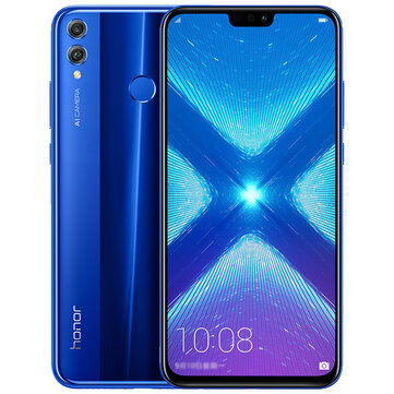 banggood Huawei Honor 8X Kirin 710 2.2GHz 8コア BLUE(ブルー)