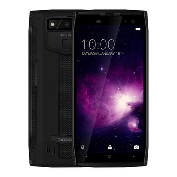 DOOGEE S50 5.7 Inch IP68 6GB RAM 64GB ROM Heilo P23 MT6763T Octa Core 2.5GHz 5180mAh 4G Smartphone