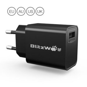 BlitzWolf® BW-S9 18W USB Charger EU US UK AU