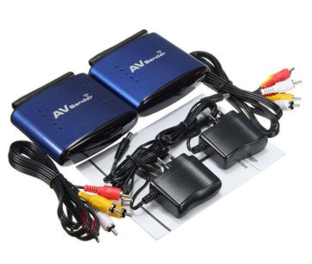 5 8ghz Wireless Av Tv Dvr Transmitter Receiver Sender Audio Video Rca Cable