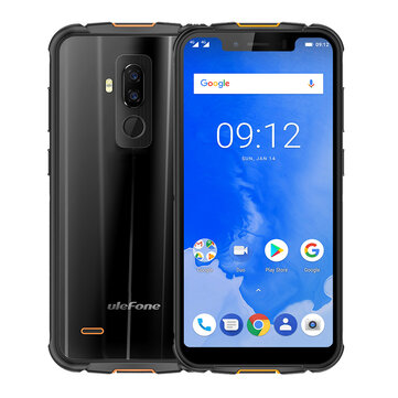 Ulefone Armor 5 IP68 NFC Wireless Charge 5000mAh 5.85 Inch 4GB 64GB MT6763 Octa core 4G Smartphone