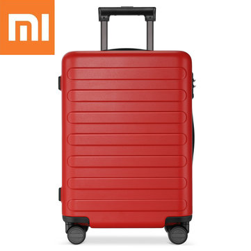 Xiaomi 90 Fun 20/24/28inch Travel Suitcase TSA Lock Spinner Wheel Carry On Luggage Case Red 20in