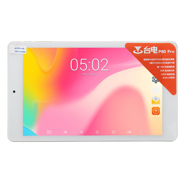 Original Box Teclast P80 PRO MT8163 Quad Core 2G RAM 16G 8 Inch Android 7.0 Tablet PC