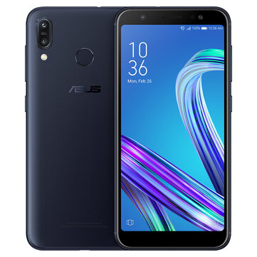 Asus ZenFone Max (M1) Global Version 5.5 Inch HD+ 4000mAh Face Unlock Andriod 8.0 2GB 16GB Snapdragon 425 4G Smartphone