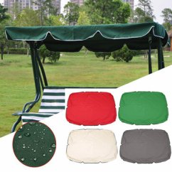 Swing Chair Canopy Replacement Heathfield Posture Summer Top Cover Furniture Waterproof For Garden Courtyard Outdoor Hammock