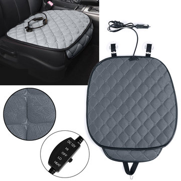 office chair warmer perfect accessories 12v polyester fiber car heated seat cushion winter household cover electric heating mat