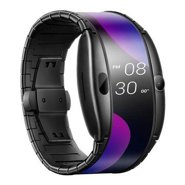 Nubia α 4.01 Inch NFC 500mAh Quick Charge 1GB RAM 8GB ROM WEAR2100 4G Wearable Smartphone