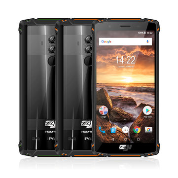 £229.25 HOMTOM ZOJI Z9 5.7 Inch IP68 Waterproof 5500mAh 6GB RAM 64GB ROM MTK6763 Octa core 4G Smartphone Smartphones from Mobile Phones & Accessories on banggood.com