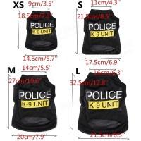 Fashion Police K-9 Unit Puppy Dog T-Shirts Pet Summer ...