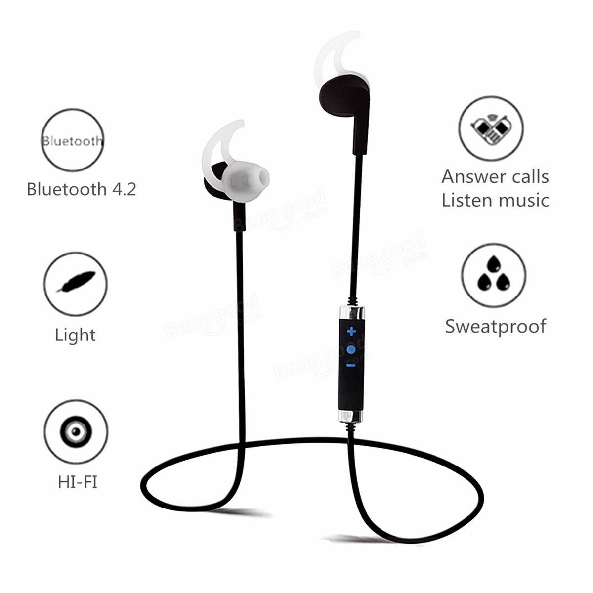 Stn 780 Universal Wireless Bluetooth Headset Sports