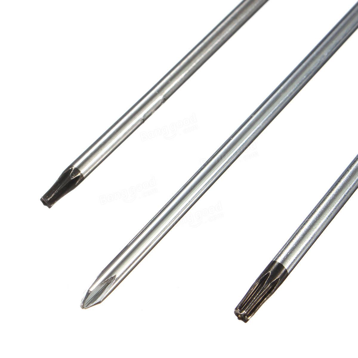 Kit de ferramentas de chave de fenda de reparação
