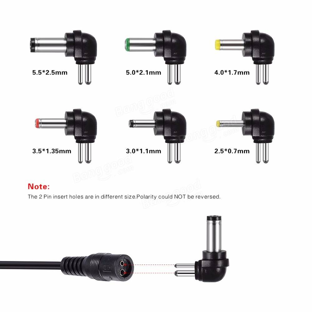 AC110-240V to DC3-12V Voltage Adjustable 30W Power Supply