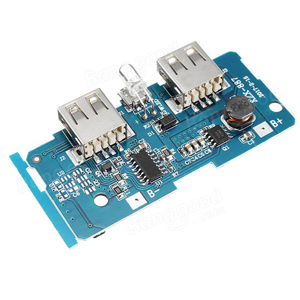 Printed Circuit Board The Circuit Should Be Supplied With A 5v Voltage