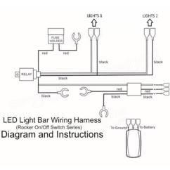 Narva Led Rocker Switch Wiring Diagram 2002 Chevy Trailblazer Engine Light Aan / Uit Aansluitscharnier Met Relais Zekering Ce Aanbiedingen ...