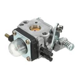 carburetor fuel filter spark plug for mantis 7222 7225 tiller zama c1u k82 [ 1200 x 1200 Pixel ]