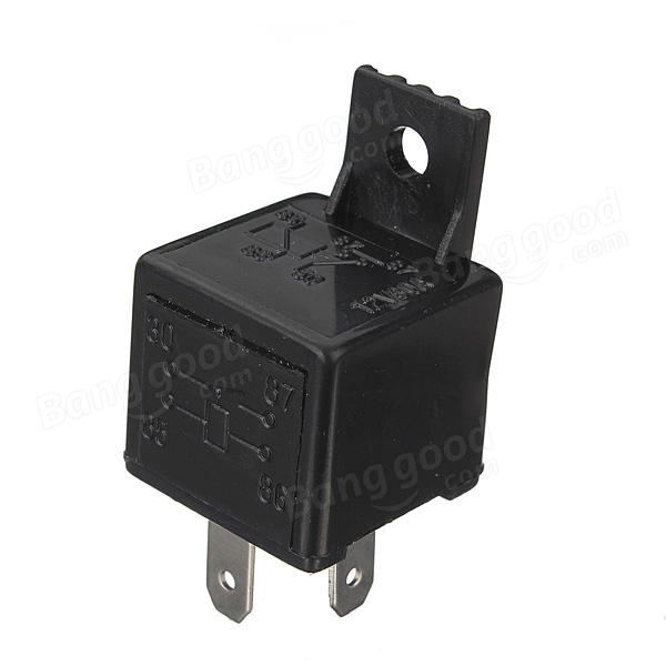 Pin Automotive Relay Diagram On 4 Pin 12v Relay Wiring Diagram