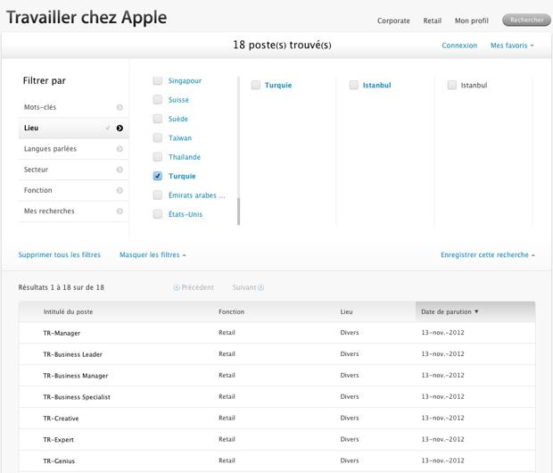 Apple Store : cap sur le Brésil et la Turquie [MAJ