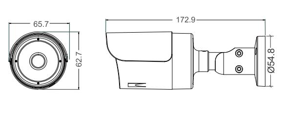 MXT 5MP 4-in-1 AHD/HD-TVI/HD-CVI/CVBS Outdoor IR 2.8mm