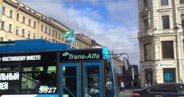 俄羅斯   聖彼得堡:搭人工收費公車遊涅瓦大道