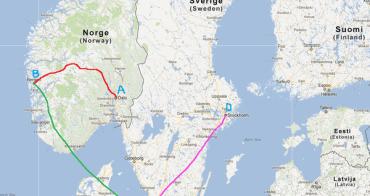 北歐 | 行程總覽篇:挪威、瑞典、丹麥旅行計劃
