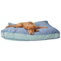 Cynthia Rowley Sea Glass Denim XL Rectangle Dog Bed ...