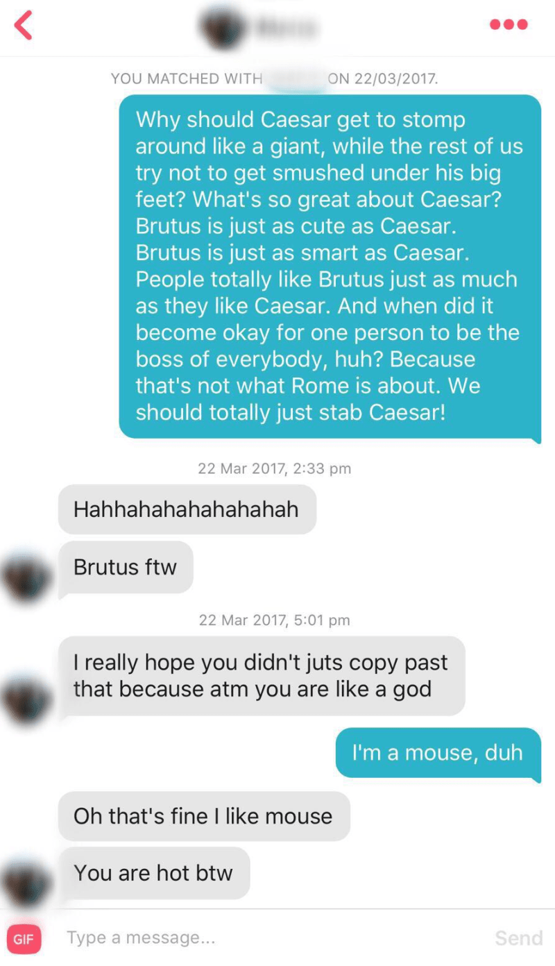 Tinder: Mean Girls Style