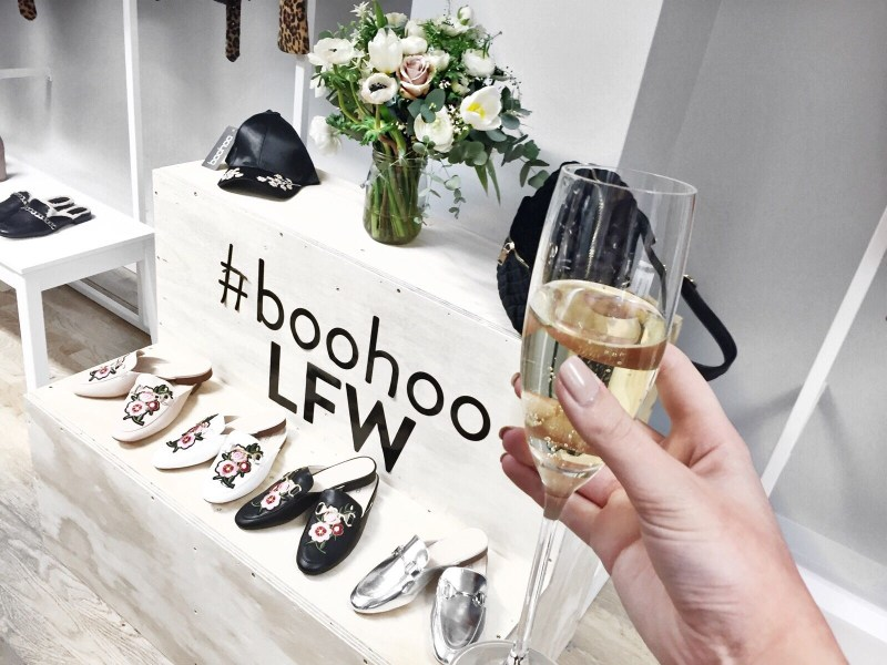 When boohoo hit up LFW...