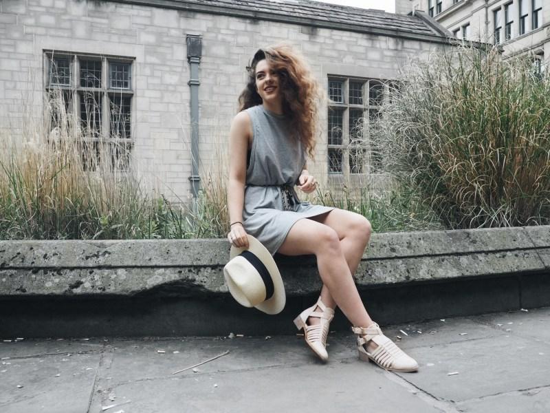 WTW | The grey T dress