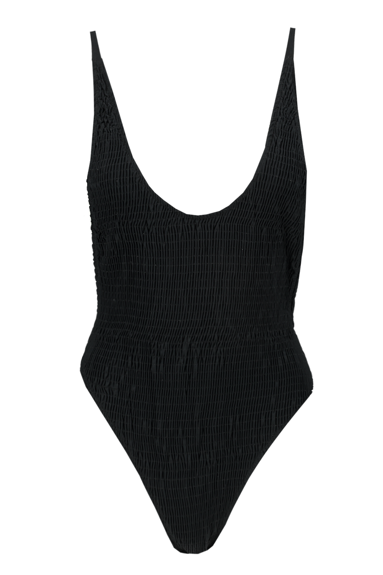 Sydney Textured High Leg Swimsuit