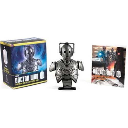 Livro - Doctor Who: Cyberman Bust and Illustrated Book