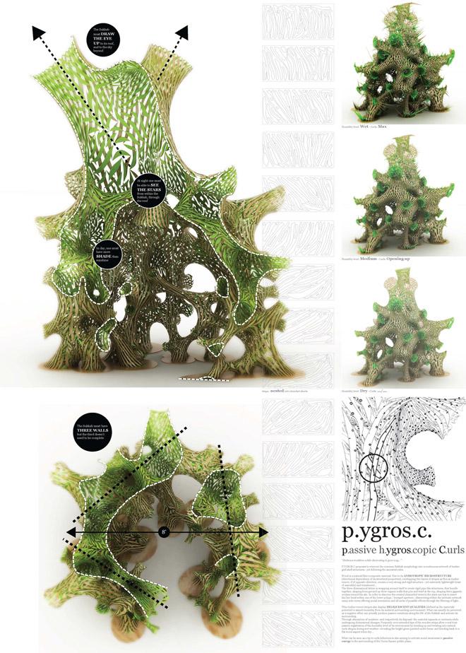 P.YGROS.C / passive hygroscopic curls