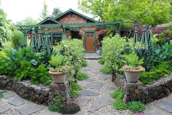 edible landscaping ideas front