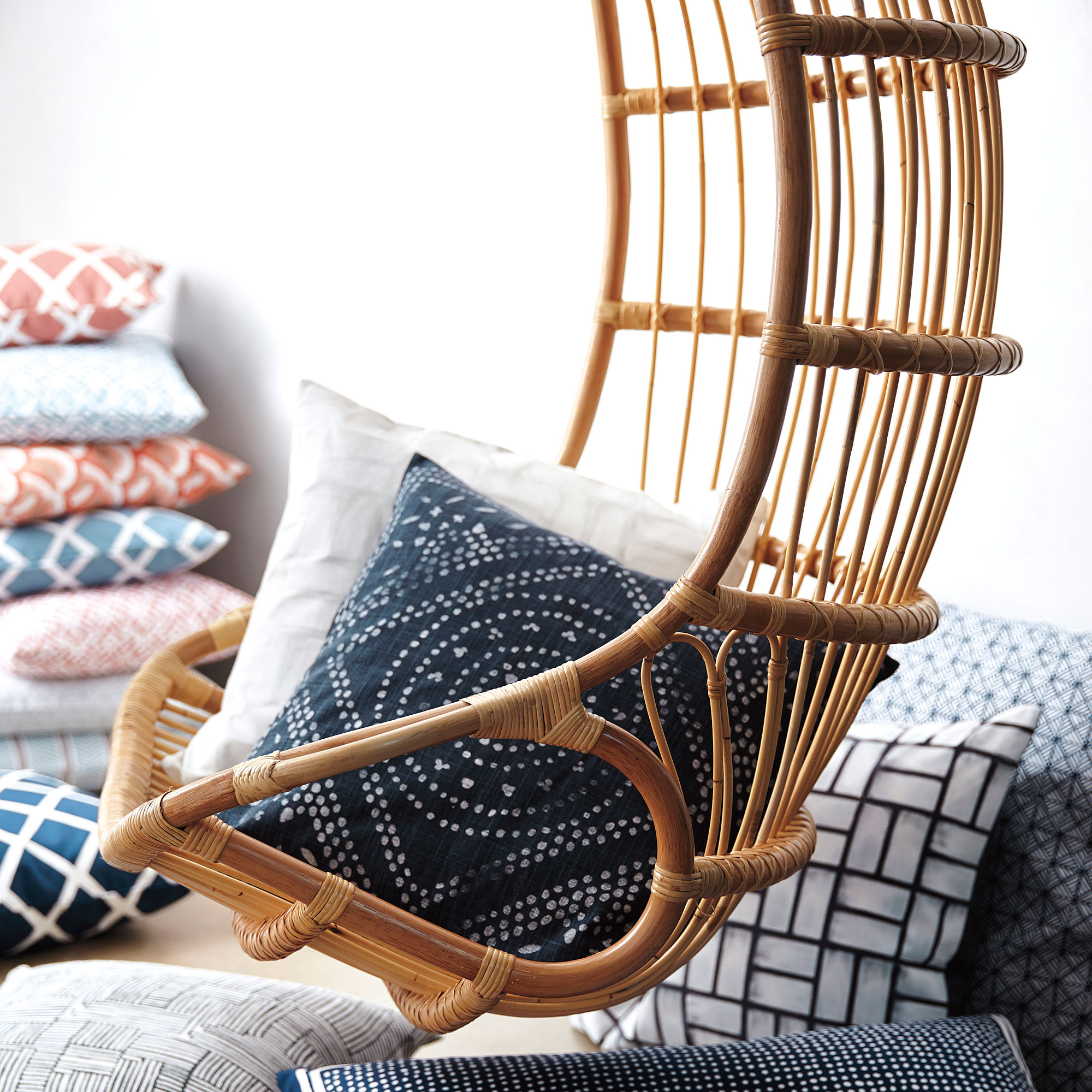 hanging chair serena and lily homedics elounger massage hammock favorites sunset magazine