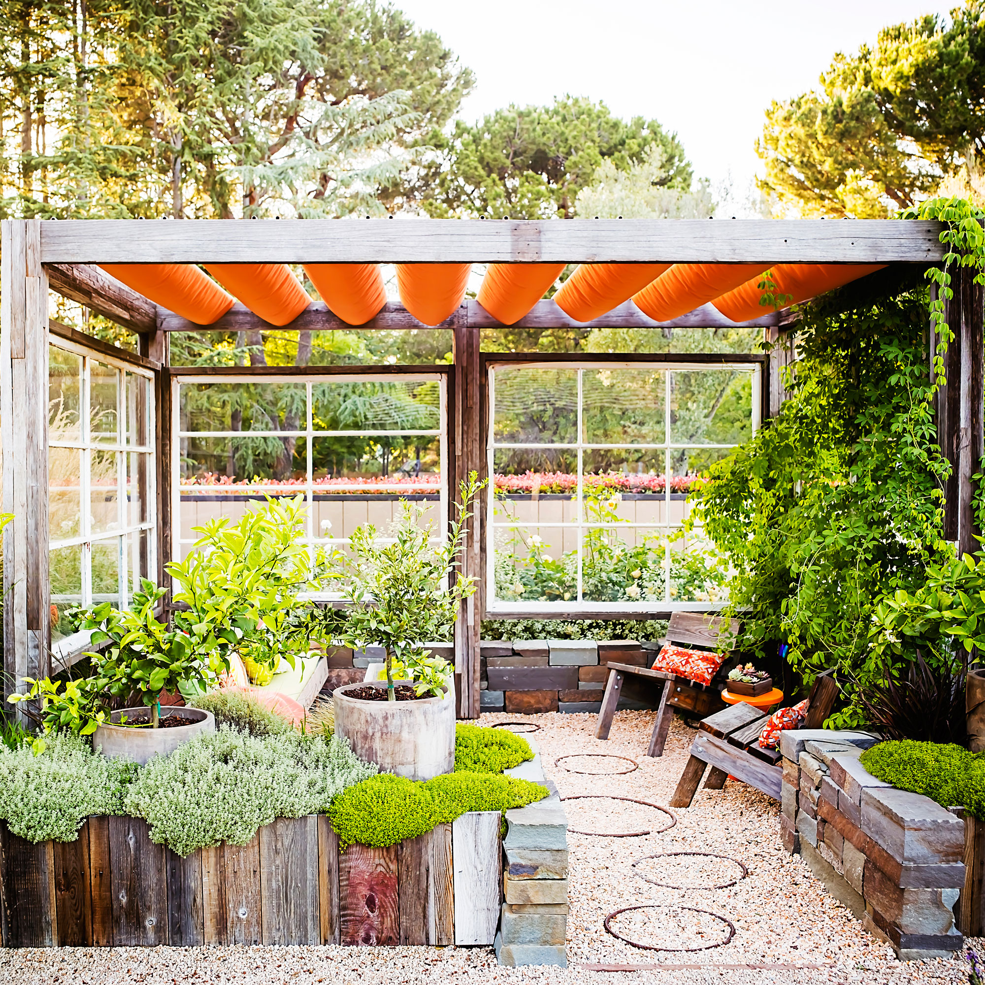 great ideas for outdoor rooms sunset com sunset magazine