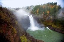 Snoqualmie Falls Salish Lodge Washington