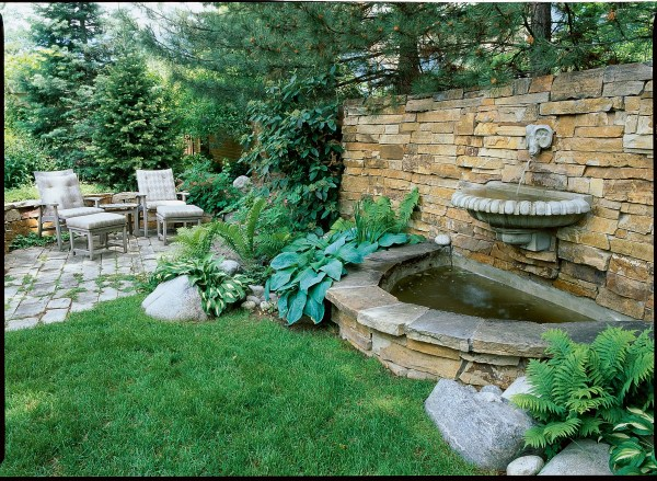 Back Yard Water Feature Fountain