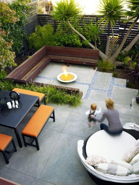 small backyard patio design ideas Before & After: Small Yards Think Big - Sunset Magazine