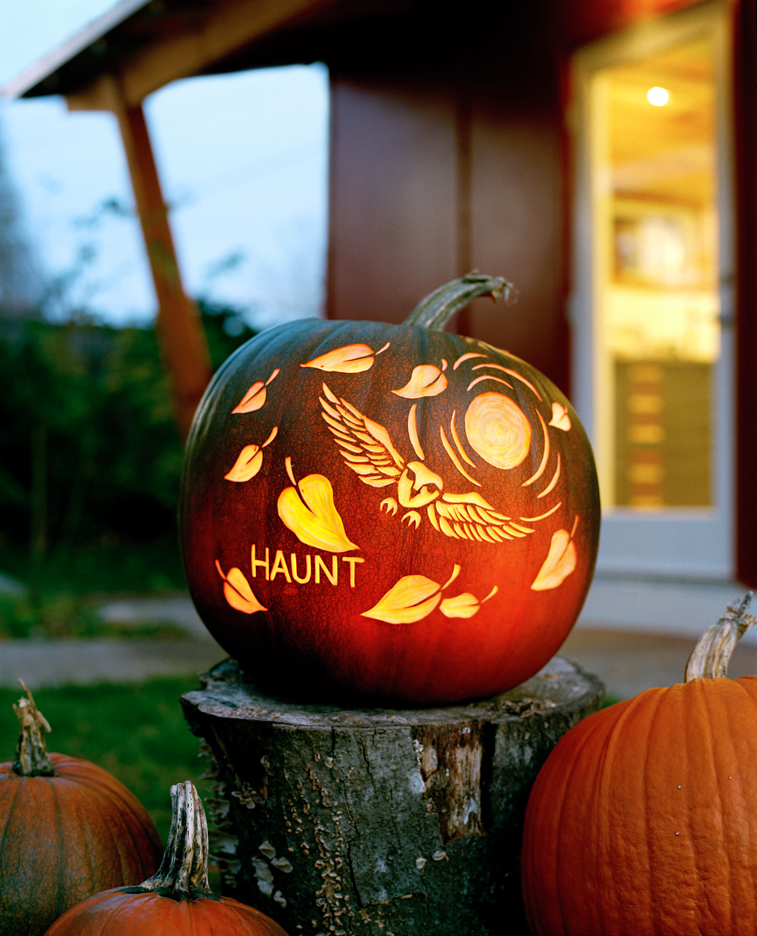 Pumpkin Carving Ideas Sunset Magazine