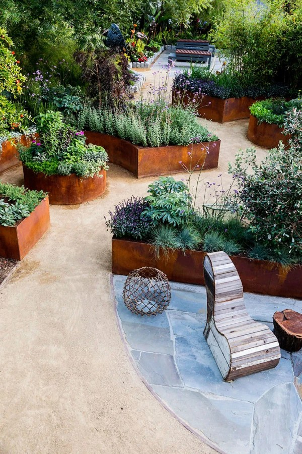 small backyard ideas edible