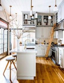 Kitchen Design Ideas with Ladder