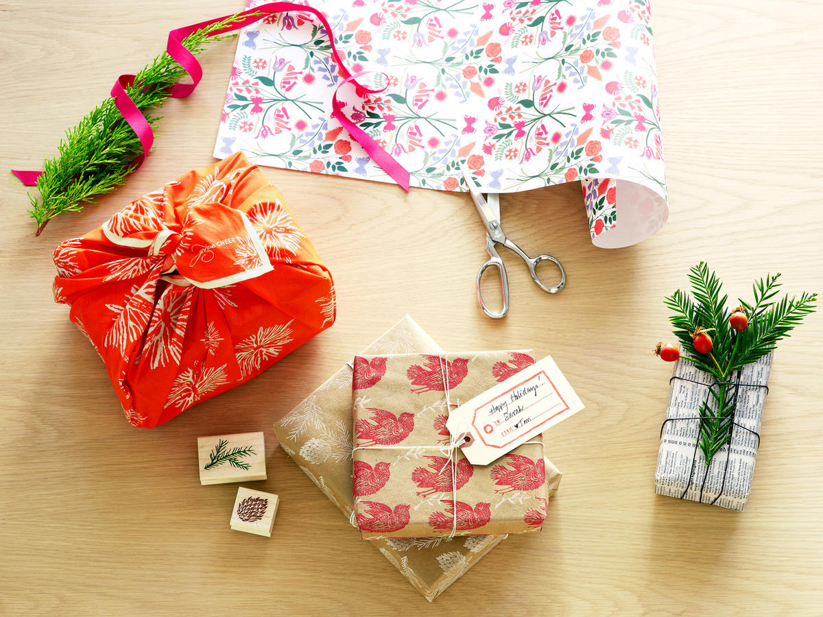 unique gift wrap ideas