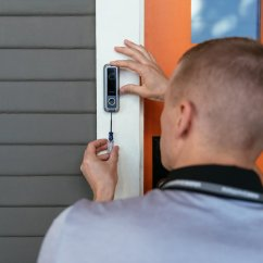 Vivint Smart Thermostat Wiring Diagram Parts Of A Plant Worksheet The Best Pros For Installing Home Tech Sunset Magazine Doorbell Installation