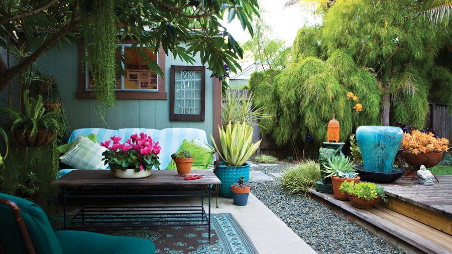 small yard design solutions