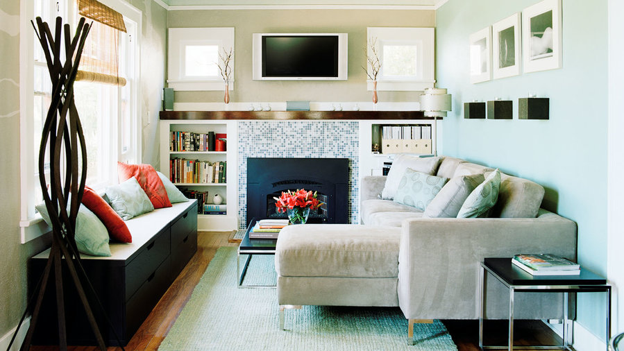 small living room storage dark brown carpet ideas sunset magazine add secret